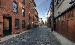 Belgian Blocks Alleyway (LennyNJ) Tags: hoboken nj newjersey courtstreet alleyway hudsoncounty
