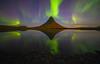Kirkjufell Mountain, Iceland (Will Shieh) Tags: northern light reflection iceland kirkjufell mountains travel adventure willshieh waterscape lake long exposure 14mm landscape night stars astro aurora