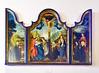 Catedral de Burgos Sala Capitular pintura La Crucifixion de Goswijn van del Weiden (Rafael Gomez - http://micamara.es) Tags: catedral de burgos sala capitular pintura la crucifixion goswijn van del weiden