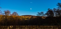 Fly me to the moon ... (Phil-Gregory) Tags: naturalphotograph naturephotography natural national moon blue sky peakdistrict hathersage rocks nikon d7200 tokina wideangle ultrawide winter color colours colour