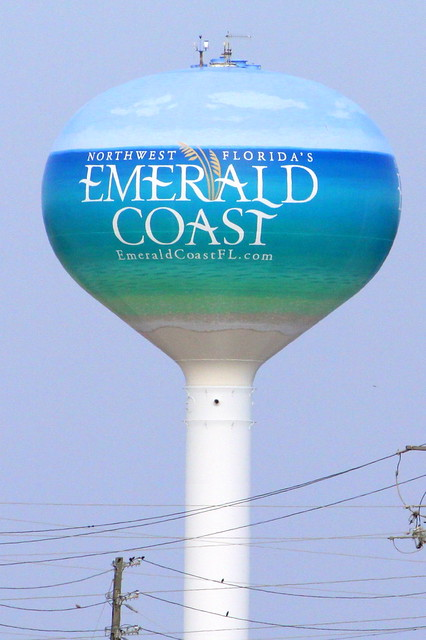 Emerald Coast water tower