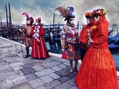 Colori di Gioia (Izzy's Curiosity Cabinet) Tags: venise venice venezia carnaval carnavale 2018 couleurs masques masks costumes deguisement