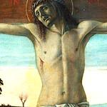BELLINI Giovanni,1465-70 - Le Calvaire (Louvre) - Detail 12 thumbnail