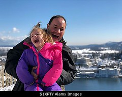 Photo accepted by Stockimo (vanya.bovajo) Tags: stockimo iphonegraphy iphone father daughter laughing family man children winter snow snowy fun funny caucasian cute beautiful toddler child parent parenthood childhood