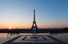 """Always the same Always different"" (julialarrigue) Tags: paris toureiffel eiffeltower eiffel exterieur sunrise sun"