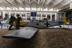 Messerschmitt Bf109E-3 - 1 (NickJ 1972) Tags: duxford imperial war museum iwm messerschmitt bf109 1190 white 4