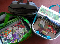February 25th, 2018 All packed and ready to go! (karenblakeman) Tags: readingfoodgrowingnetwork rfgn seedswap boxes february 2018 reading uk berkshire 2018pad