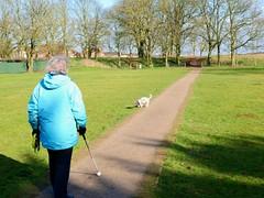 Sunday afternoon walk (Keith Coldron) Tags: walk park path trees tyson jennifer sunday