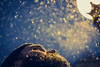 Snowy beard (theoswald) Tags: self bokeh selfportrait details winter deusto bilbao glow city light dof beard cold snow