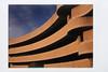Canadian Museum of History, Gatineau (Howard Sandler (film photos)) Tags: canadianmuseumofhistory gatineau architecture instant instax mini franka rolfix folding sunset
