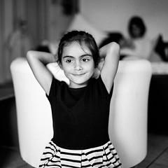 (yoannpupat) Tags: portrait daughter 120film fujiacros100 tilt noiretblanc bw analogic 6x6 argentique moyenformat rolleiflex sl66