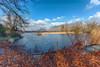 Lac de la tranquilité - Savoie (gerardcarron) Tags: canon80d hiver lac nature savoie nuages paysage calme 1022 eau ciel arbres montagne pelouse france lesmarches lake sky water mountains winter
