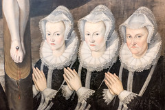 Wife and daughters (Nick in exsilio) Tags: women mother daughters renaissance berlin germany lace