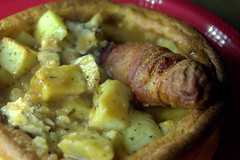 Filled Yorkshire Pudding with British Chicken & Pigs in Blankets with Roast Potatoes (Tony Worrall) Tags: add tag ©2018tonyworrall images photos photograff things uk england food foodie grub eat eaten taste tasty cook cooked iatethis foodporn foodpictures picturesoffood dish dishes menu plate plated made ingrediants nice flavour foodophile x yummy make tasted meal nutritional freshtaste foodstuff cuisine nourishment nutriments provisions ration refreshment store sustenance fare foodstuffs meals snacks bites chow cookery diet eatable fodder filled yorkshire pudding with british chicken pigs blankets roast potatoes