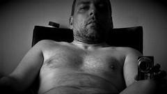 mirror-selfie bw (marcostetter) Tags: hairychest hairy naked selfie sexy sexyman fashion body bodyhair mirror
