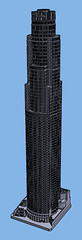 1:2000 US Bank Tower (Doctor Octoroc) Tags: us bank tower los angeles california ca united states building skyscraper structure architecture 3dprinting shapeways