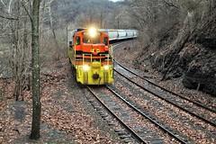 P&OHC, Thornburg, Pa (W&LE45) Tags: poc pohc pittsburghohiocentral gp9 gp7 gp11 scullyyard scully panhandleline prrpanhandleline conrail pennsylvaniarailroad penncentral crafton thornburg trains train railroad railroads