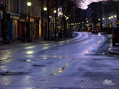 King Street WestsWet 9343 (ctLow_photog) Tags: brockville ontario wet roads