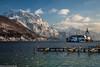Schoss Orth Traunstein (AnBind) Tags: 2018 schnee motive winter jahreszeit oberösterreich ausflug gmunden traunsee österreich at see