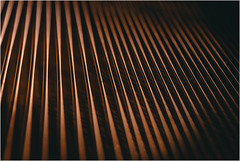 Metallic Organisation (Thomas Listl) Tags: thomaslistl color orange warm piano strings lines graphical light grandpiano pianostrings vsco