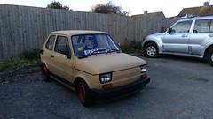 Fiat 126 BIS G425NHR (Andrew 2.8i) Tags: street spot spotting car classic classics cars bis 126 126bis fiat
