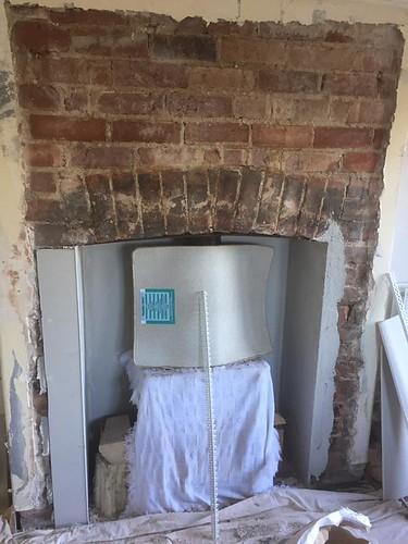 plastercore.co.uk Fireplace Before