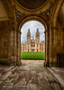 Oxford College View (Holfo) Tags: yellow oxford college arch architecture tower stone hdr nikon d750 stonework building grass
