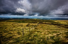 open country HFF (Phil-Gregory) Tags: naturalphotograph naturalphotography naturephotography natural naturalworld countryside color colours colour peakdistict kinderscout fence nikon d7200 tokina1120mmatx tokina 1120mmf2811