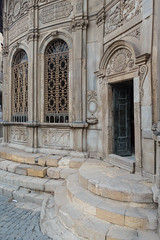 20180101 Cairo, Egypt 08884-552 (R H Kamen) Tags: cairo egypt egyptianculture middleeast northafrica architecture buildingexterior builtstructure day doorway entrance facade fountain muslim outdoors rhkamen
