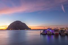 Calm on the Bay (Ryan Jeske) Tags: longexposure canon80d ocean sunset water sky canon1585mm canon calm california morrobay