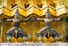 Gold Load (jgottlieb) Tags: statues bangkok thailand grand palace gold leica mp typ 240 summicron 75mm