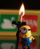 Flamin heck!!!  Explored    #30  - 29/1/18 (~ **Barbara ** ~) Tags: macromondays flame fire match minions macro 100mm macrolens closeup swanvestas matches canon7dii 290118 explored
