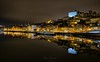 Lights of Porto (kalbasz) Tags: porto portugal ribeira night lights bank mirror colors hdr outdoor buildings boat