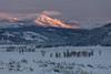 Lamar Valley alpenglow (YellowstoneNPS) Tags: jacobwfrank ynp yellowstone yellowstoneforever yellowstonenationalpark alpenglow sunset winter