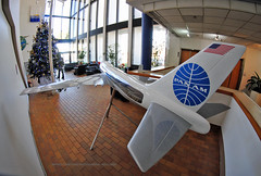Pan Am Clipper 747 Oversize Cutaway Model (Infinity & Beyond Photography) Tags: panamerican panam international flight instruction academy miami boeing 747 b747 oversize cutaway model airplane plane aircraft airliner