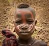Mursi Girl (Rod Waddington) Tags: africa african afrique afrika äthiopien ethiopia ethiopian ethnic etiopia ethnicity ethiopie etiopian omovalley omo outdoor omoriver mursi tribal tribe traditional culture cultural painted face girl child