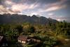 Vang Vieng Laos (sachman75) Tags: vangvieng laos indochina mountains karsts jungle forests river village clouds landscape afternoon tropics rainforest sonya7rii sony1635mmf4zaoss littlestopper leefilters visitlaos2018