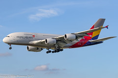 HL7634 - 2014 build Airbus A380-841, on approach to Runway 25L at Frankfurt (egcc) Tags: 179 20162018 a380 a380841 a388 aar airbus asiana asianaairlines eddf fra frankfurt hl7634 lightroom main oz rheinmain staralliance superjumbo visitkoreayear unicef