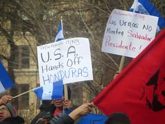 USA Hands Off Honduras
