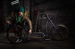 Bling Bling (> Mr.D Photography) Tags: bike custom gold strobist strobe speedlight black photography product portrait bling silly nikon d7100 tokina 1224mm f4 yongnuo yn 560iii 560tx rf603 elinchrom dlite 2