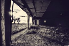 (CTfotomagik) Tags: abandoned ruraldecay nikon wideangle northerncolorado weathered dilapidated garage vacant