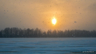 Tänane ilm on ehe näide sellest, millised olid talved vanasti teadsid semud kõnelda. No ikka korralikult tuiskas ja põhjatuul parkis nahka nii näol- kui kätel.  Kala võtu puhul aga mina nuriseda ei saa, kuna tabasin selle hooaja  suurima ahvena! 430g :ok_