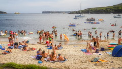 Australia Day 2018 - Fairlight (2) (geemuses) Tags: australiaday2018 invasionday manly nsw newsouthwales australia party celebrations water people candid street sea ocean sydneyharbour girls women men bikini swimsuit po passengership cruiseliner landscape scenic scenery light beautifullight color colour colours fairlightbeach