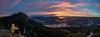 Mt. Prevost Selfie Panorama | January 2018 (pklopper) Tags: mtprevost mountain sunrise colourful colour cowichanvalley selfie panorama vancouverisland canada petrusklopper nikon 1635mm d800 pk1photos explorebc photography explorevancouverisland nature adventure travel