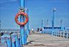 Muelle - Dock (Daroo Photography) Tags: pier blue sky wood landscape coast muelle celeste azul naranja madera paisaje costa daroo photography fotografia daroophotography nikon d5200 5200 flickr