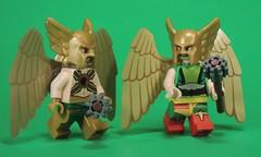 Hawks of Thanagar (-Metarix-) Tags: lego super hero minifig dc comcis comic hawkman hawkgirl thanagar superhero
