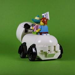 nEO_IMG_DOGOD_Panda car_03 (DOGOD Brick Design) Tags: pingpongclub japan love comics lego moc brick taiwan dogod ianhou 稲中卓球社 稲中卓球部 去吧稻中乒團