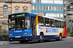 28938 G108 CEH (Cumberland Patriot) Tags: stagecoach busways travel services limited ltd north east england newcastle tyne and wear pte passenger transport executive scania n113crb alexander ps b51f single deck saloon 108 938 28938 g108ceh step entrance bus buses derv diesel engine road vehicle beachball swoops 88