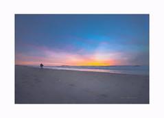 Looking for tomorrow (Krasne oci) Tags: landscape seascape ocean water coast oregon sky beach sand painterly texturedphoto evabartos fineart artphotography photographicart minimalist
