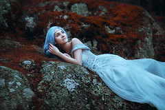 (kristina.tsvetkova) Tags: portrait portraitphotography portraiture портрет fantasy fairytalephotography fairytale princess dreamy dress blue beauty beautiful naturalbeauty girl woman model finland helsinki art fineart